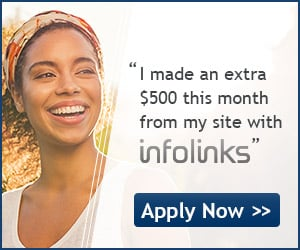 Join Infolinks to earn heavily